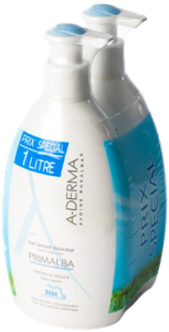 Aderma primalba gel lavant douceur lot de 2 x 500 ml